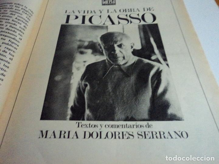 Coleccionismo de Revista Gaceta Ilustrada: VIDA Y LA OBRA DE PICASSO. LA GACETA ILUSTRADA Nº EXTRA. - Foto 8 - 103394655