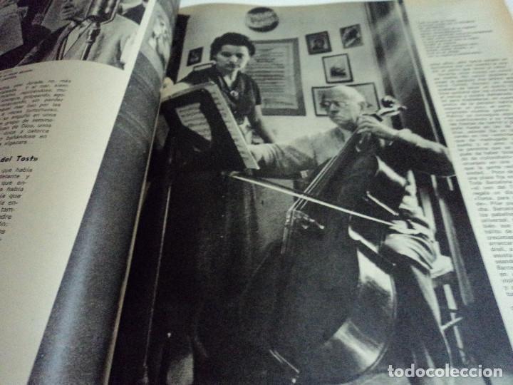 Coleccionismo de Revista Gaceta Ilustrada: CASALS CASI UN SIGLO. 1973 bodas oro de franco, blanca estrada, nastase, - Foto 8 - 103396083