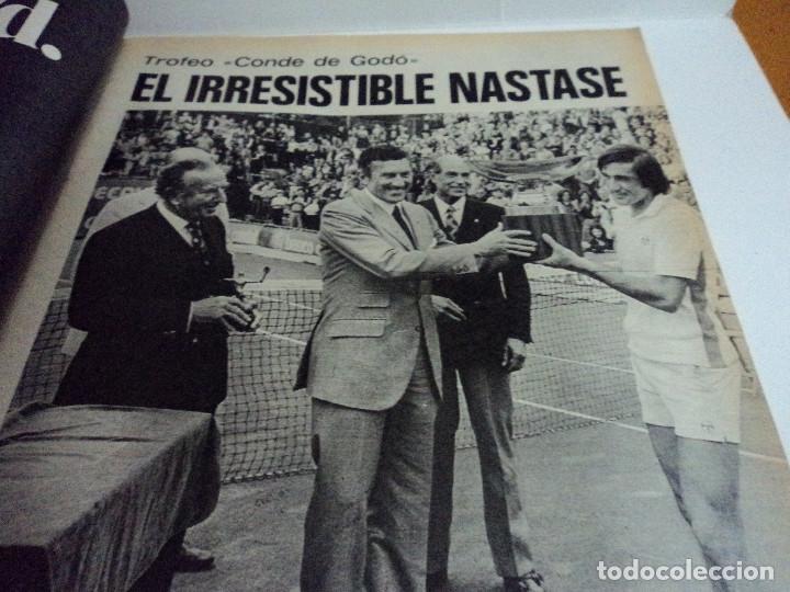 Coleccionismo de Revista Gaceta Ilustrada: CASALS CASI UN SIGLO. 1973 bodas oro de franco, blanca estrada, nastase, - Foto 12 - 103396083