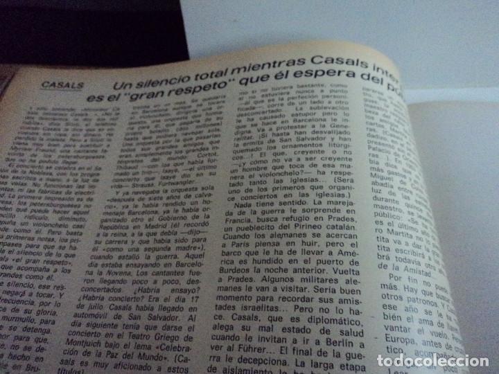 Coleccionismo de Revista Gaceta Ilustrada: CASALS CASI UN SIGLO. 1973 bodas oro de franco, blanca estrada, nastase, - Foto 14 - 103396083