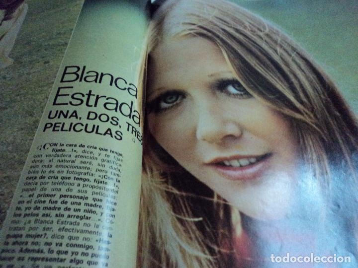 Coleccionismo de Revista Gaceta Ilustrada: CASALS CASI UN SIGLO. 1973 bodas oro de franco, blanca estrada, nastase, - Foto 16 - 103396083