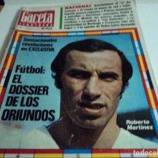 Coleccionismo de Revista Gaceta Ilustrada: ORIUNDOS, MARYLIN MONROE, LOS CONTRASTES DE LA URSS. Lote 103460191