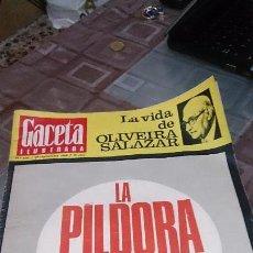 Coleccionismo de Revista Gaceta Ilustrada: GACETA ILUSTRADA Nº 625 - 29 DE SEPTIEMBRE DE 1968. Lote 103507127