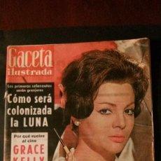 Coleccionismo de Revista Gaceta Ilustrada: GACETA ILUSTRADA 287-1962-SARA MONTIEL-MEDIAS-MARISOL-ANUNCIO CERVEZA SAN MIGUEL VESPA-SILDA LEGRAND. Lote 103870207
