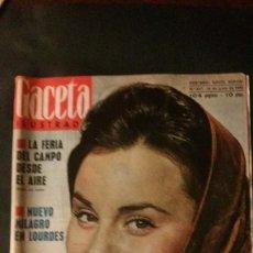 Coleccionismo de Revista Gaceta Ilustrada: GACETA ILUSTRADA 297-PORTADA ROCIO DURCAL-ANUNCIO SEAT. Lote 103871807