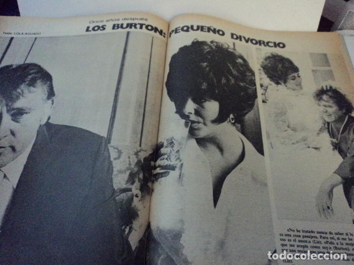Coleccionismo de Revista Gaceta Ilustrada: liz taylor y richard burton, pavic rey de los leones, watergate john dean, gaceta ilustrada - Foto 3 - 104040235