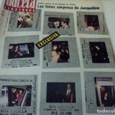 Coleccionismo de Revista Gaceta Ilustrada: LOS HOMBRES DEL PLAN DE DESARROLLO, JAQUELINE KENNEDY, LA MARABUNTA EN EL CAMP NOU, GACETA ILUSTRADA. Lote 104040955