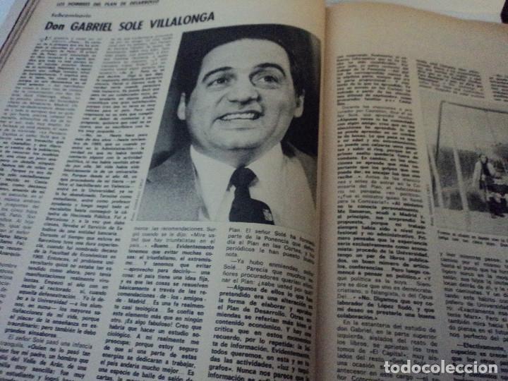 Coleccionismo de Revista Gaceta Ilustrada: los hombres del plan de desarrollo, jaqueline kennedy, la marabunta en el camp nou, gaceta ilustrada - Foto 9 - 104040955