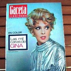 Coleccionismo de Revista Gaceta Ilustrada: GACETA ILUSTRADA 1969 / GINA LOLLOBRIGIDA, PEÑON DE GIBRALTAR, ATHLETIC CLUB BILBAO, RICHARD GUINO. Lote 104293683