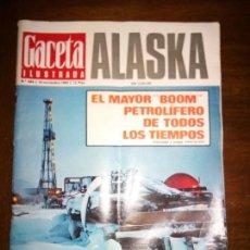 Coleccionismo de Revista Gaceta Ilustrada: GACETA ILUSTRADA, ALASKA EN COLOR, NOVIEMBRE 1969, NUMERO 684. Lote 105415072