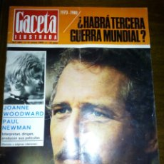 Coleccionismo de Revista Gaceta Ilustrada: GACETA ILUSTRADA, HABRÁ TERCERA GUERRA MUNDIAL, ENERO 1970, NUMERO 692. Lote 105421275