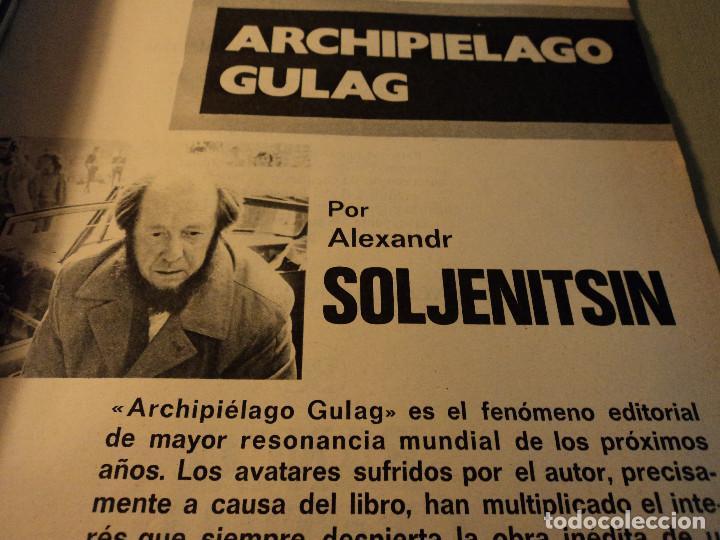 Coleccionismo de Revista Gaceta Ilustrada: gaceta nº 917 general spinola, archipielago gulag, patricia hearst, celtic - at. madrid 1974 - Foto 2 - 105985687