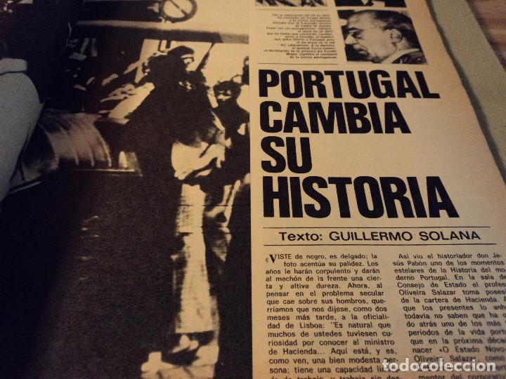 Coleccionismo de Revista Gaceta Ilustrada: gaceta nº 917 general spinola, archipielago gulag, patricia hearst, celtic - at. madrid 1974 - Foto 4 - 105985687