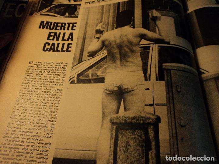 Coleccionismo de Revista Gaceta Ilustrada: gaceta nº 917 general spinola, archipielago gulag, patricia hearst, celtic - at. madrid 1974 - Foto 9 - 105985687