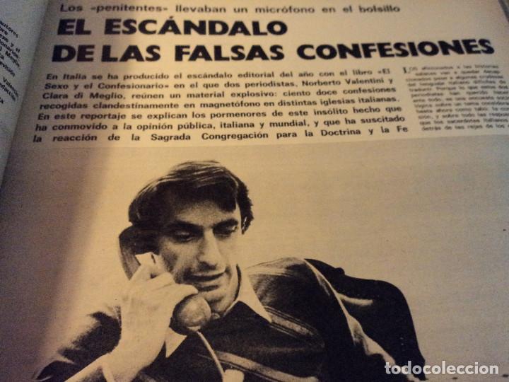 Coleccionismo de Revista Gaceta Ilustrada: gaceta nº 864 massiel, loli de los leprosos, ltalia escandalo de las falsas confesiones 1973 - Foto 7 - 105986179