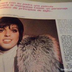 Coleccionismo de Revista Gaceta Ilustrada: LA PAZ IMPOSIBLE,Y SEIS PAGINAS ENTREVISTA Y FOTOS A LIZA MINELLI 1973, Y JACQUES COSTEAU 7 PAGINAS. Lote 105994935