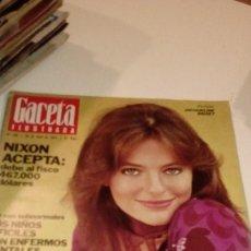 Coleccionismo de Revista Gaceta Ilustrada: REVISTA GACETA ILUSTRADA Nº 916 DE 28 DE ABRIL 1974- PORTADA JACQUELINE BISSET. Lote 107741587
