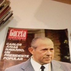Coleccionismo de Revista Gaceta Ilustrada: REVISTA GACETA ILUSTRADA Nº 901 1974 - CARLOS ARIAS, MADRID, BILBAO, SANTA TERESA DE JOURNET, NAVIPL. Lote 107746523