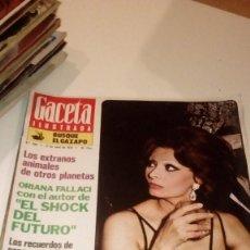 Coleccionismo de Revista Gaceta Ilustrada: REVISTA GACETA ILUSTRADA Nº 968-AÑO 1975-SOFIA LOREN ¿LA BELLA DIVORCIADA ?-PORTUGAL LA GUERRA DE LO. Lote 107746727
