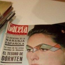 Coleccionismo de Revista Gaceta Ilustrada: REVISTA GACETA ILUSTRADA Nº 473 LA AVENTURA DE LA NARANJA ESPAÑOLA MAQUILLAJE OP-ART. Lote 107746971