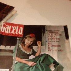 Coleccionismo de Revista Gaceta Ilustrada: REVISTA GACETA ILUSTRADA Nº 476 20-11-1.965 AMPARO SOLER LEAL - LA MAFIA - SHIRLEY MACLAINE - PETER. Lote 107747935