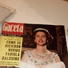 Coleccionismo de Revista Gaceta Ilustrada: REVISTA GACETA ILUSTRADA Nº 481 1965 - EL ADIOS DE SUGAR RAY ROBINSON, NIÑO PINTOR JUAN LUIS, ROSTRO. Lote 107747971