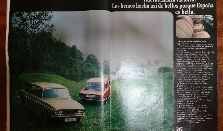 Coleccionismo de Revista Gaceta Ilustrada: GACETA ILUSTRADA Nº 838-1972 - IRVING EL CASO HUGHES - FIRESTONE - SEAT 60 - AUSTIN VICTORIA-FYNLEY - Foto 24 - 86506096