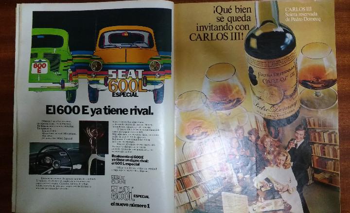 Coleccionismo de Revista Gaceta Ilustrada: GACETA ILUSTRADA Nº 838-1972 - IRVING EL CASO HUGHES - FIRESTONE - SEAT 60 - AUSTIN VICTORIA-FYNLEY - Foto 23 - 86506096