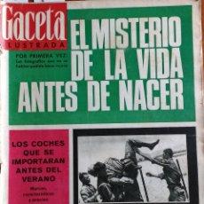 Coleccionismo de Revista Gaceta Ilustrada: GACETA ILUSTRADA Nº 451-1965 - EL SECRETO DE LOS MARINES - PUBLICIDAD SCHWEPPES - L&M-LOIS-FIRESTONE. Lote 86505092