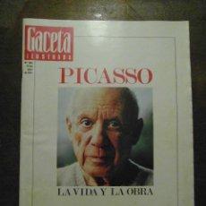 Coleccionismo de Revista Gaceta Ilustrada: PICASSO, LA VIDA Y OBRA. GACETA ILUSTRADA EXTRA. Nº 863, 1973. Lote 108890635