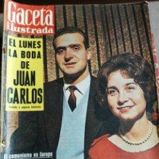 Coleccionismo de Revista Gaceta Ilustrada: REVISTA GACETA ILUSTRADA 12 MAYO 1962. NUM 292. Lote 109039532