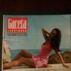 Coleccionismo de Revista Gaceta Ilustrada: GACETA ILUSTRADA 567-1967-AVA GARDNER-LUDMILLA TCHERINA-MARTINI-PEPSI-COLA . Lote 109338227