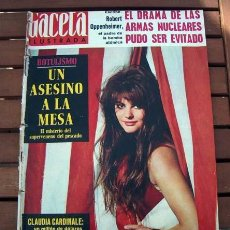 Collectionnisme de Magazine Gaceta Ilustrada: GACETA ILUSTRADA / CLAUDIA CARDINALE, IMPERIO ARGENTINA, RAMON TORRAS, NOUVELLE VAGUE DEL FLAMENCO. Lote 110032599