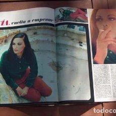 Coleccionismo de Revista Gaceta Ilustrada: GACETA ILUSTRADA/ 2001 UNA ODISEA DEL ESPACIO, STANLEY KUBRICK, LUCIA BOSE, GRETA GARBO, TED KENNEDY. Lote 111329231