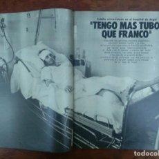 Collectionnisme de Magazine Gaceta Ilustrada: ANTONIO CUBILLO HERIDO EN ARGEL ISLAS CANARIAS INDEPENDIENTES REVISTA AÑO 1977. Lote 111633307