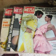 Coleccionismo de Revista Gaceta Ilustrada: LA GACETA ILUSTRADA 5 REVISTAS. Lote 111768527