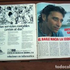Coleccionismo de Revista Gaceta Ilustrada: GACETA ILUSTRADA / ANTONIO GADES, SALON DEL AUTOMOVIL DE PARIS. Lote 112089043