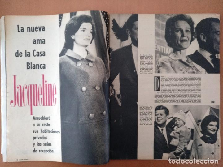 Coleccionismo de Revista Gaceta Ilustrada: GACETA ILUSTRADA Nº 216 NOVIEMBRE 1960 JACQUELINE KENNEDY/CLARK GABLE PUBLICIDAD - Foto 4 - 112229003
