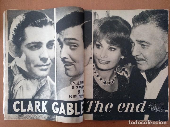 Coleccionismo de Revista Gaceta Ilustrada: GACETA ILUSTRADA Nº 216 NOVIEMBRE 1960 JACQUELINE KENNEDY/CLARK GABLE PUBLICIDAD - Foto 5 - 112229003