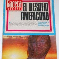 Coleccionismo de Revista Gaceta Ilustrada: GACETA ILUSTRADA #586 1967 MARISOL PEPA FLORES SPAIN VINTAGE MAGAZINE REVISTA. Lote 114159871