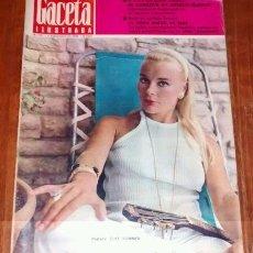 Coleccionismo de Revista Gaceta Ilustrada: GACETA ILUSTRADA #517 1966 ELKE SOMMER HEMINGWAY PICASSO JAPAN SPANISH MAGAZINE REVISTA. Lote 114161179