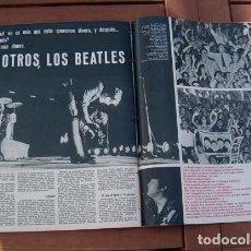 Coleccionismo de Revista Gaceta Ilustrada: GACETA ILUSTRADA 1965 / THE BEATLES, AVA GARDNER, EL DESCUBRIMIENTO DE MARTE. Lote 114402875