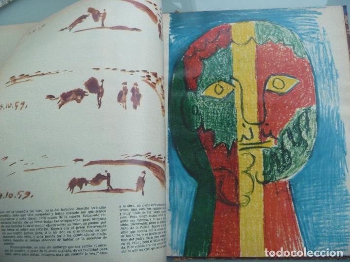 Coleccionismo de Revista Gaceta Ilustrada: GACETA ILUSTRADA : COLECCIONABLE TOROS, MUERTE EN LA TARDE DE ERNEST HEMINGWAY , PICASSO - Foto 4 - 190593906