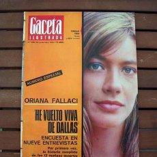 Coleccionismo de Revista Gaceta Ilustrada: GACETA ILUSTRADA / MONTSERRAT CABALLE, FRANCOISE HARDY / 1966. Lote 115119327