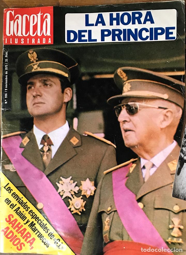 REVISTA GACETA ILUSTRADA 1975 (Coleccionismo - Revistas y Periódicos Modernos (a partir de 1.940) - Revista Gaceta Ilustrada)