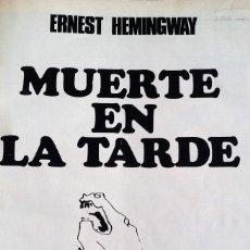 Coleccionismo de Revista Gaceta Ilustrada: MUERTE EN LA TARDE, E. HEMINGWAY. CON ILUSTRACIONES DE PICASSO. GACETA ILUSTRADA, 1966. GRAN FORMATO. Lote 115582159