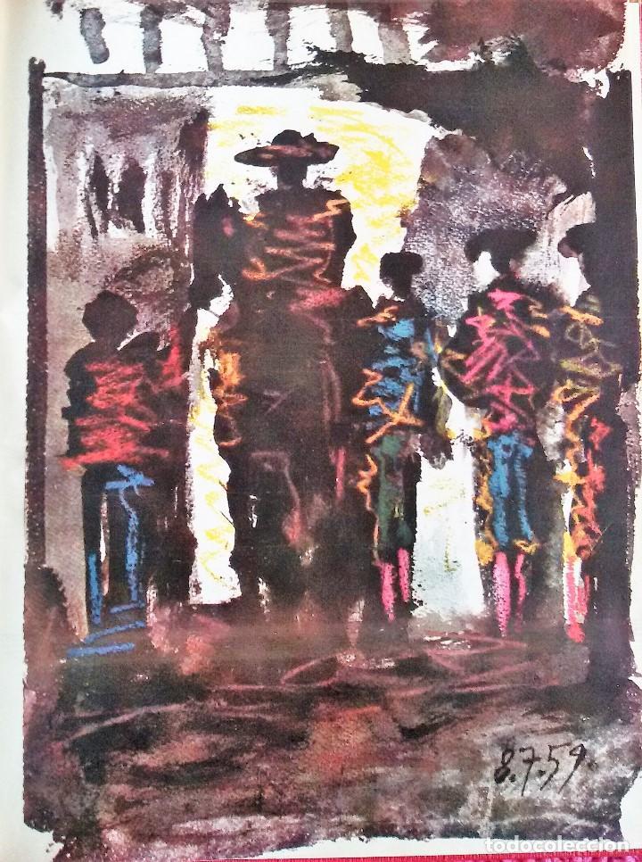 Coleccionismo de Revista Gaceta Ilustrada: Muerte en la Tarde, E. Hemingway. Con ilustraciones de Picasso. Gaceta Ilustrada, 1966. Gran formato - Foto 5 - 115582159