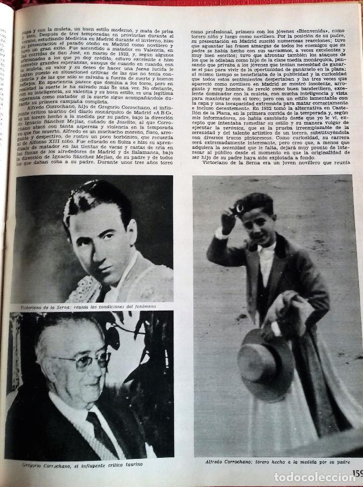 Coleccionismo de Revista Gaceta Ilustrada: Muerte en la Tarde, E. Hemingway. Con ilustraciones de Picasso. Gaceta Ilustrada, 1966. Gran formato - Foto 7 - 115582159