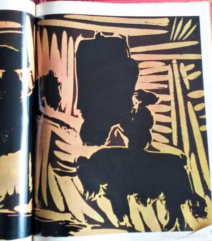 Coleccionismo de Revista Gaceta Ilustrada: Muerte en la Tarde, E. Hemingway. Con ilustraciones de Picasso. Gaceta Ilustrada, 1966. Gran formato - Foto 9 - 115582159