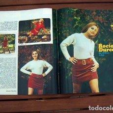 Coleccionismo de Revista Gaceta Ilustrada: GACETA ILUSTRADA / ROCIO DURCAL, LAS MARIPOSAS, SAGRADA FAMILIA DE BARCELONA, BRIGITTE BARDOT. Lote 117655911